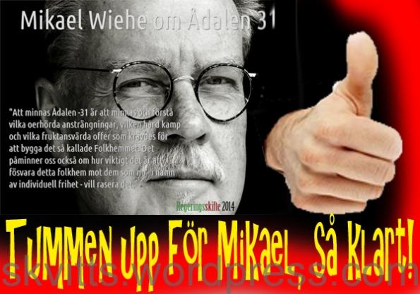 Tumme för Mikael