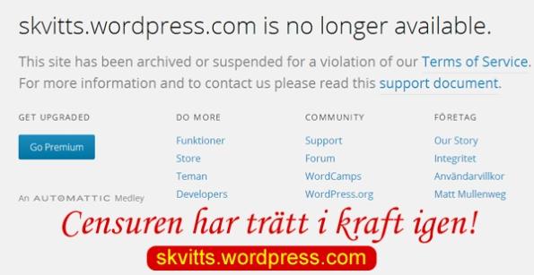 Skvitt censurerad